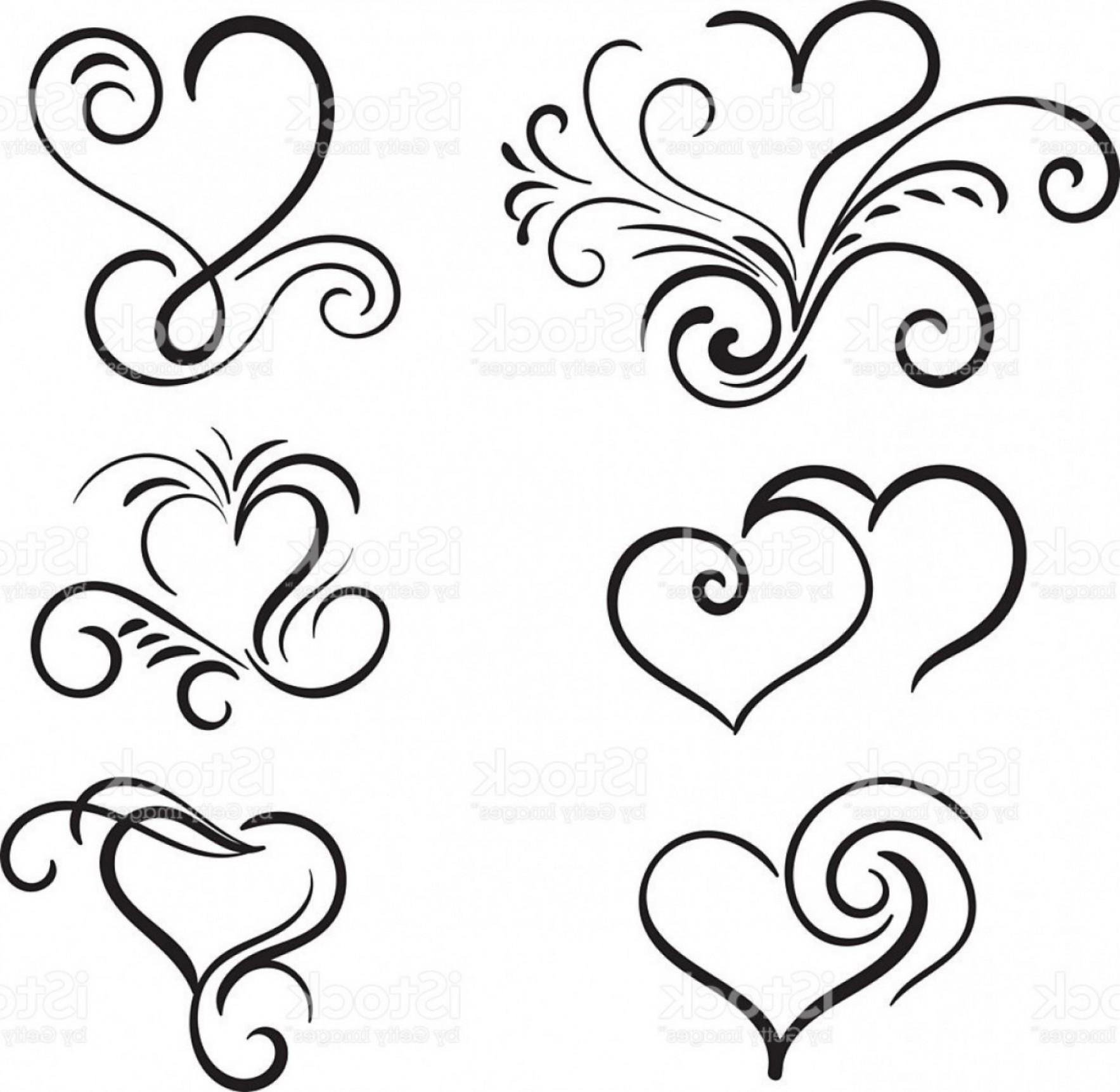stock Swirl drawing filigree. Free download best on