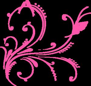 clip art transparent Swirl Cute Flower png