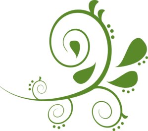 jpg transparent library green swirls png