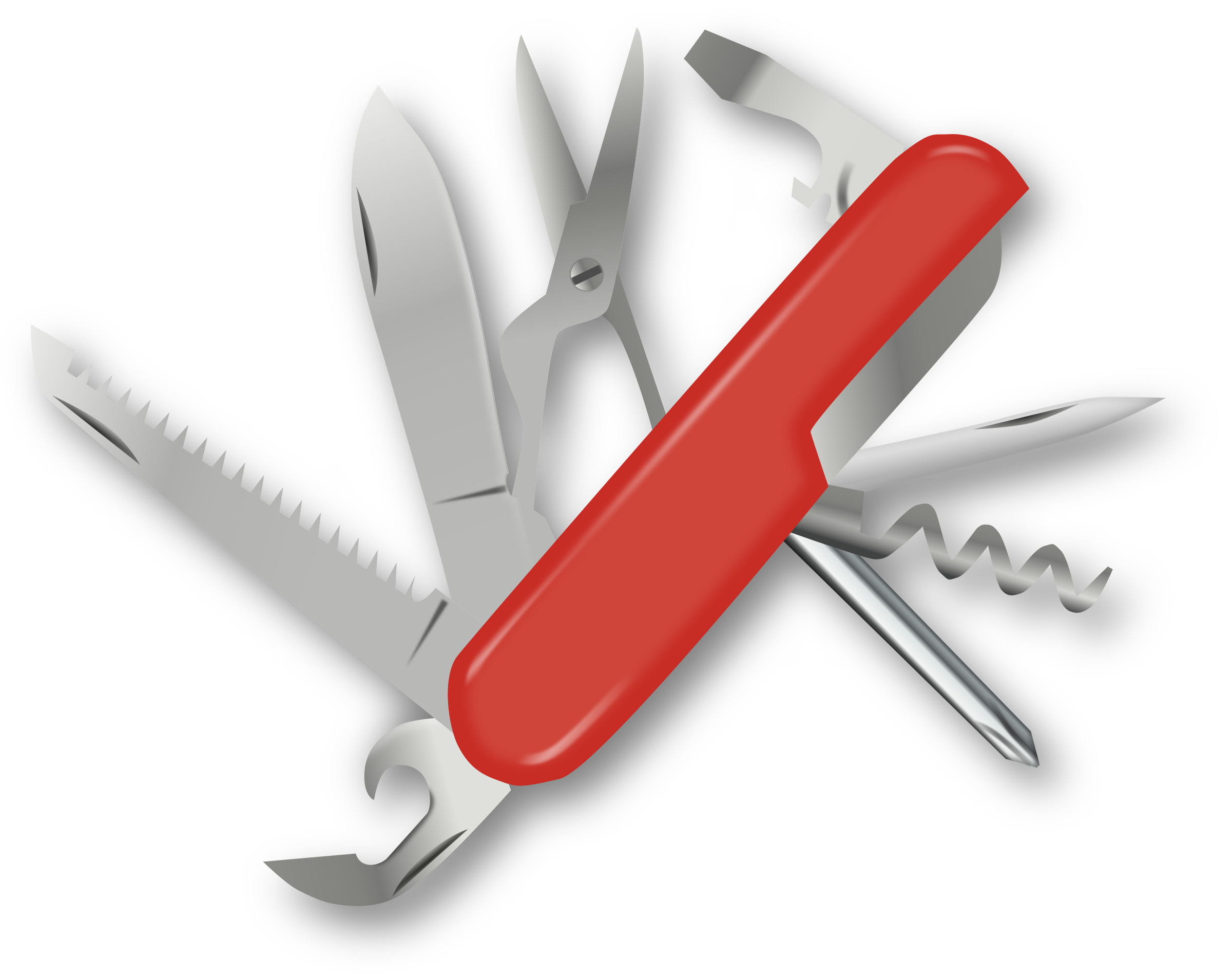 clip library Big image png. Swiss army knife clipart