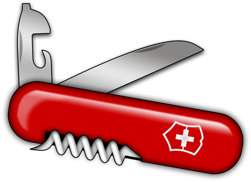 png free library Swiss army knife clipart. Information security aficionado ncat