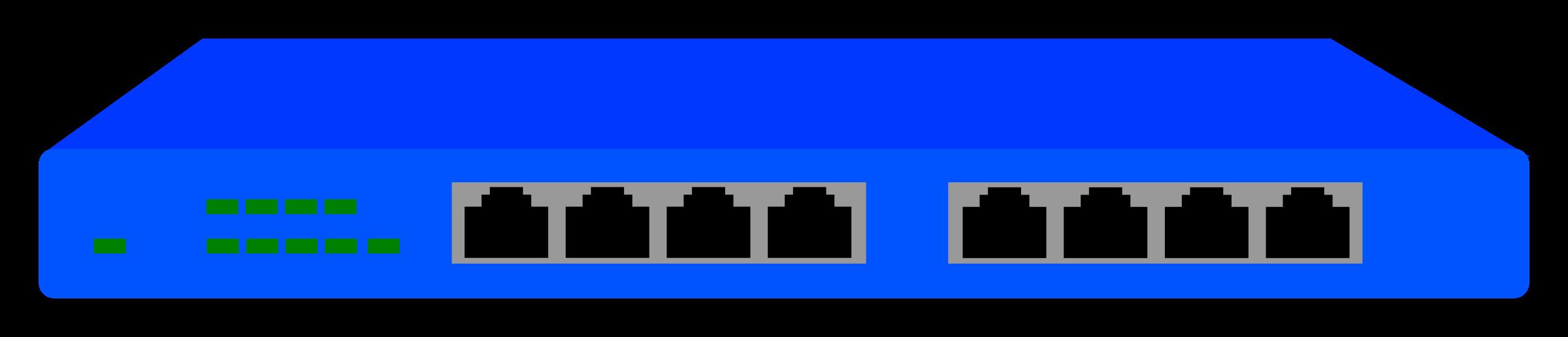 vector Netgear fs p big. Switch clipart