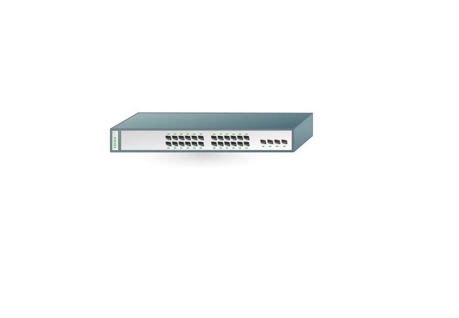 png library stock  hub medium pixel. Switch clipart 8 port.