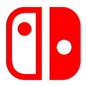 image black and white download Nintendo Switch Logo Vector