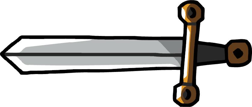 picture royalty free download Sword clipart excalibur sword. Scribblenauts wiki fandom powered