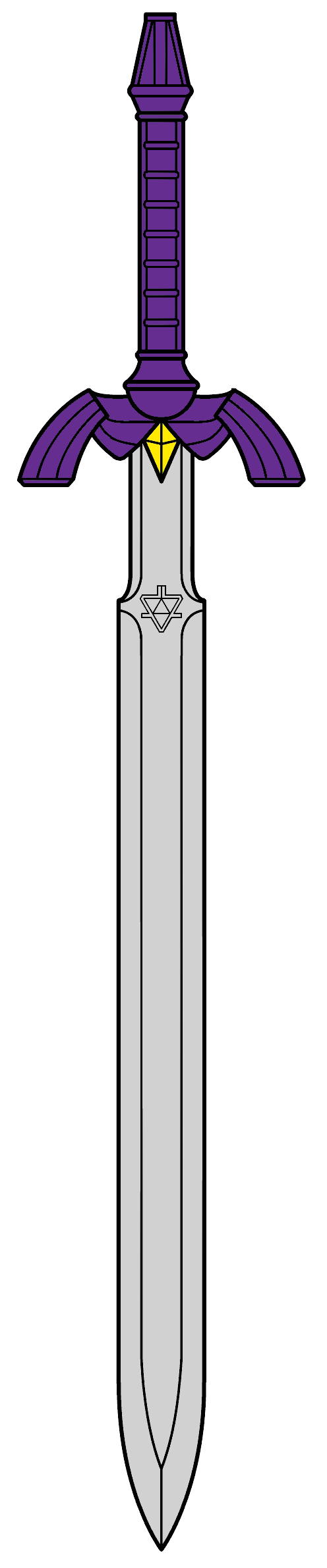 svg free Master Sword