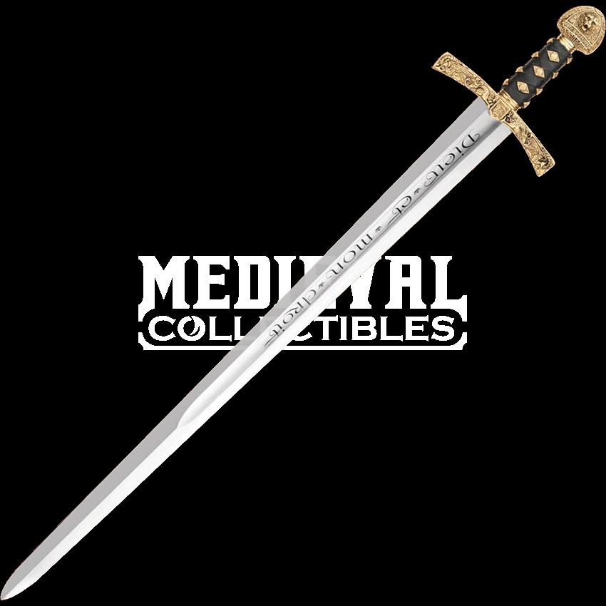 image royalty free stock Lionheart Sword of King Richard
