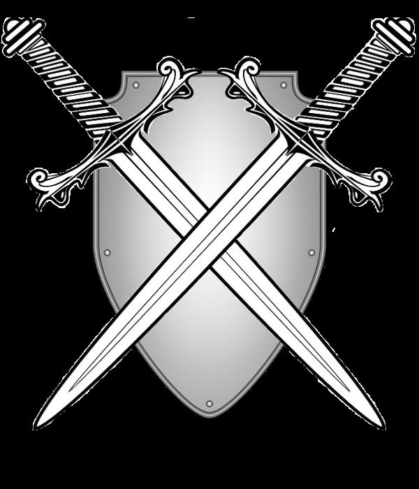 vector transparent Two Swords Clip art