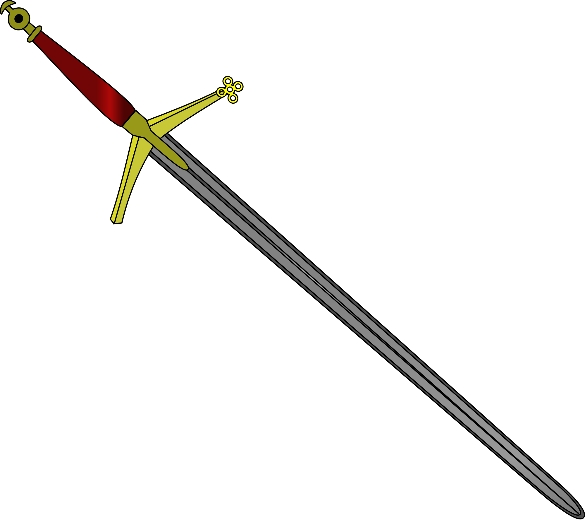 clipart free sword svg claymore #116148440