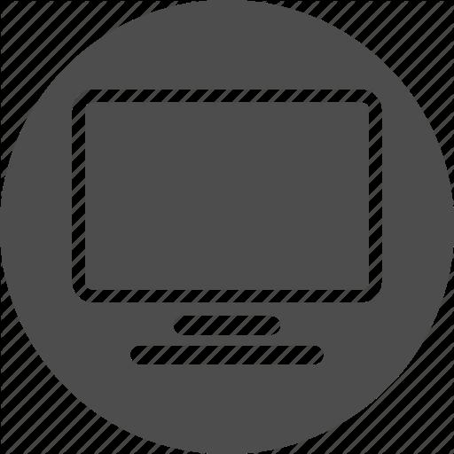 svg transparent Computer RoundLine