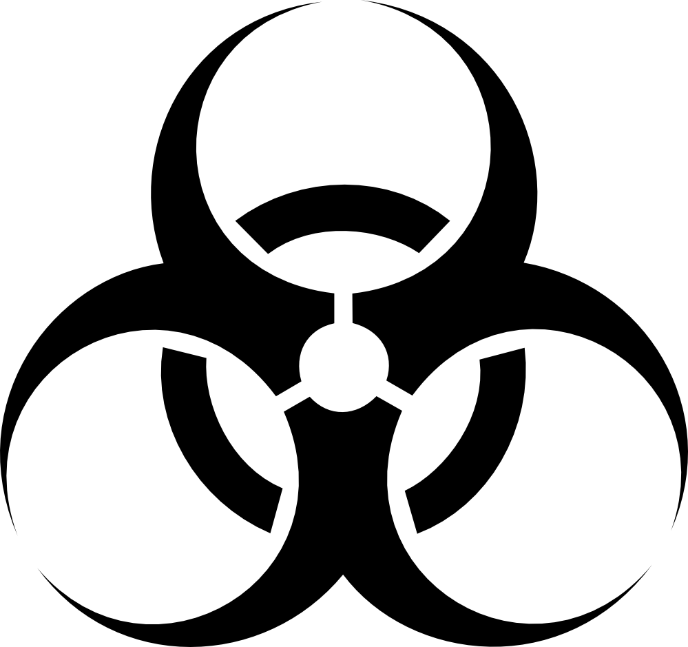 vector transparent stock Biohazard Symbol PNG Transparent Images