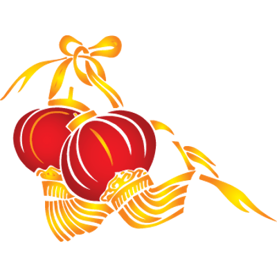 svg library stock Lanterns For Chinese New Year transparent PNG