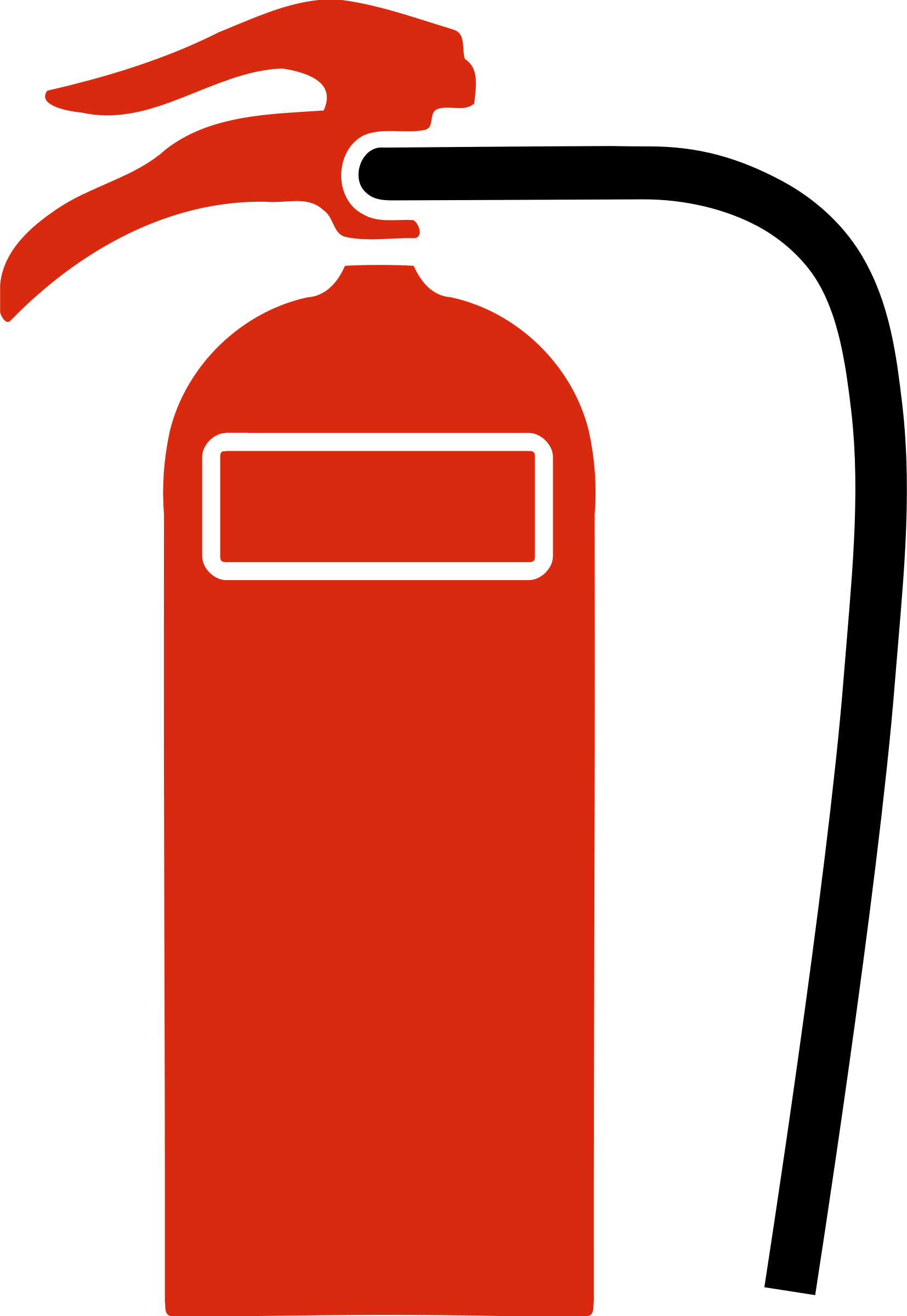 vector transparent Water big image png. Symbols clipart fire extinguisher
