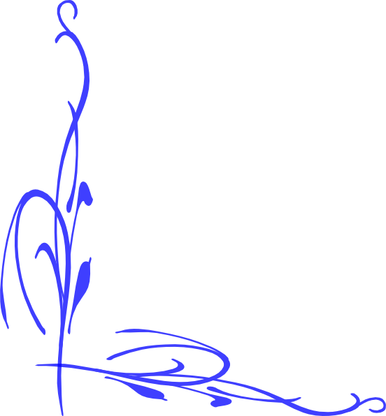 clip black and white download Blue Vine Clip Art at Clker