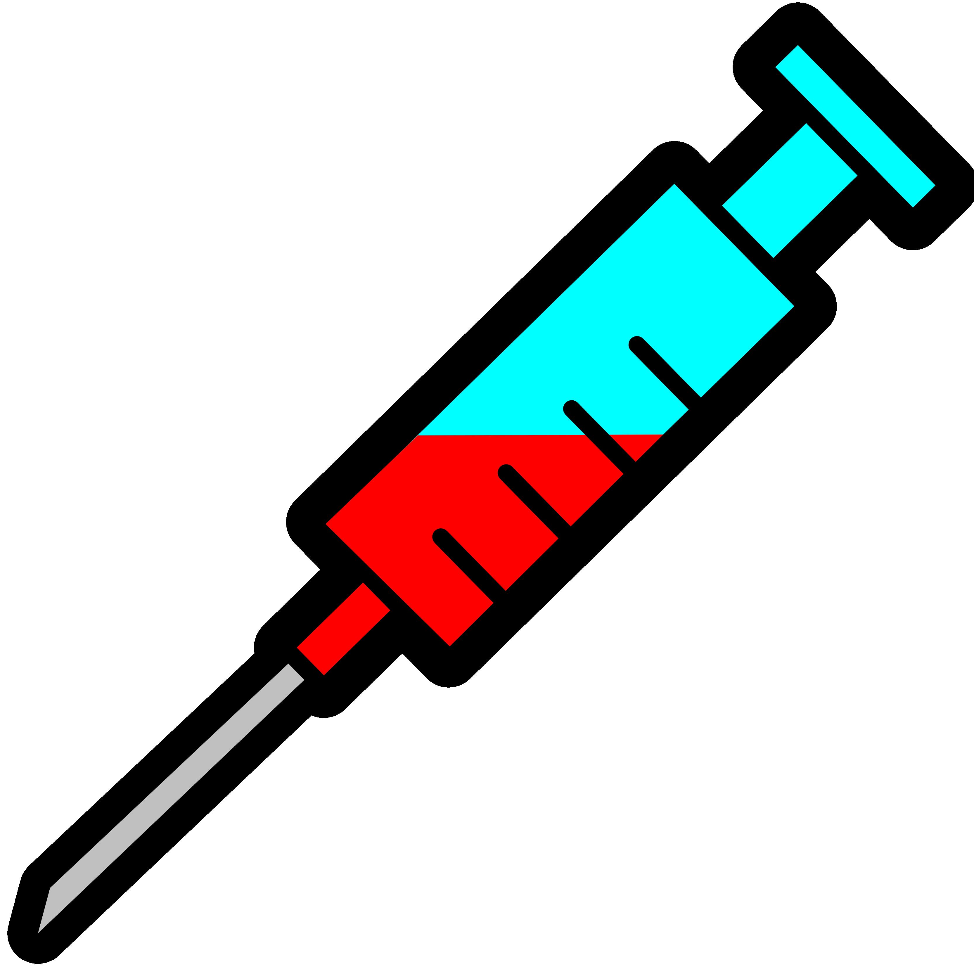 freeuse library Clip art panda free. Syringe clipart
