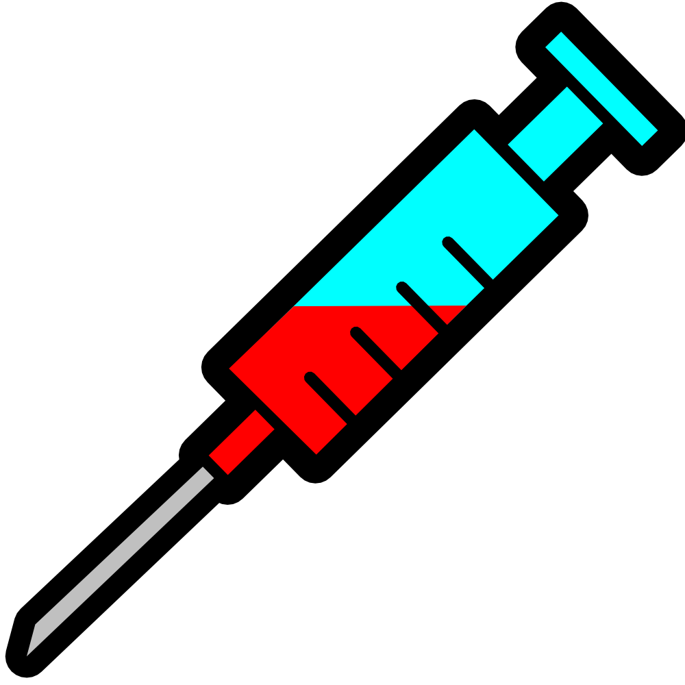 svg royalty free download Syringe Clipart injection
