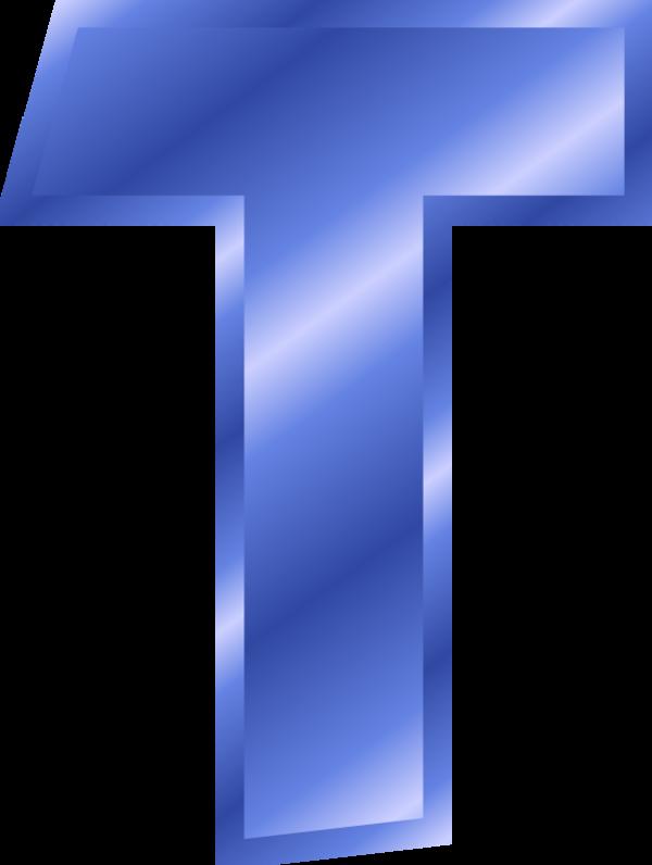 jpg free I . T clipart blue letter
