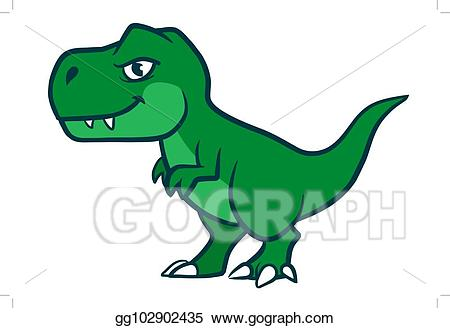 svg black and white stock T rex clipart. Vector cute cartoon illustration.