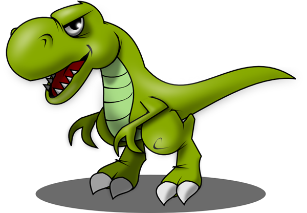 clip free stock Tyrannosaurus Rex Clipart
