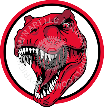 graphic freeuse library trex clipart head #85141823