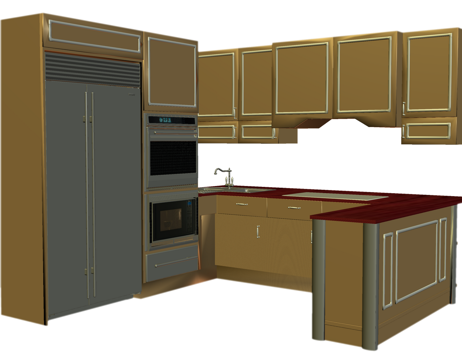 banner . Kitchen counter clipart.
