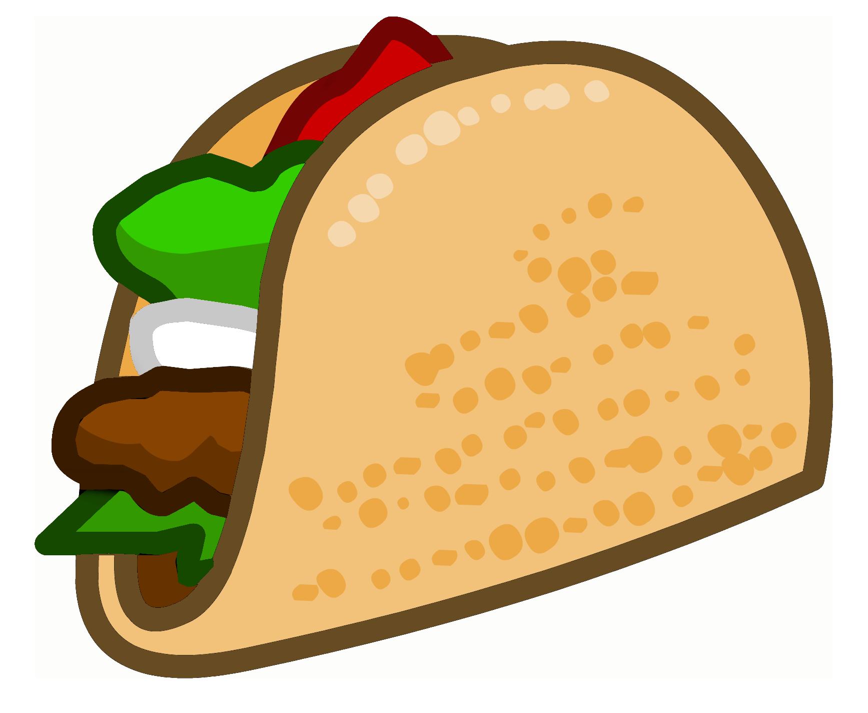 clip art transparent stock Tacos clipart. Picture for clipartix