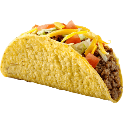 clipart freeuse Tacos transparent background. Range of png stickpng