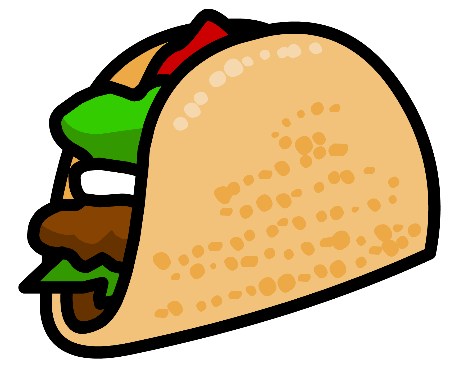 vector royalty free download Image taco pin png. Tacos transparent tumblr
