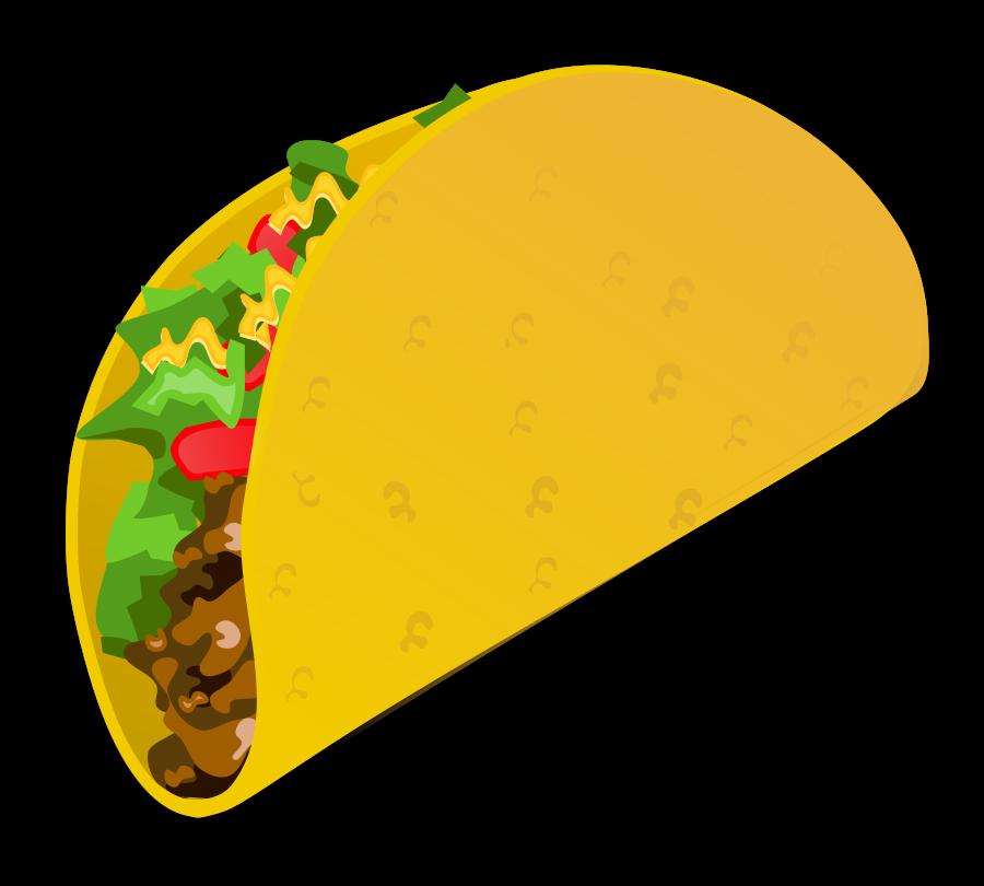 vector freeuse stock cute taco clipart #61893861