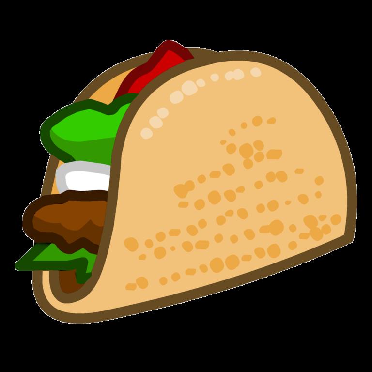 clip art library Tacos clipart burito. Taco salad mexican cuisine.