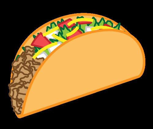 royalty free stock Free Cartoon Taco