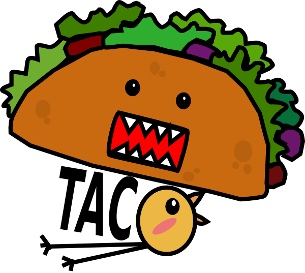 clip art transparent stock Taco Mae Chick Clip Art at Clker