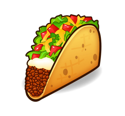 vector royalty free download taco clipart taco clipart png monkey clipart free download