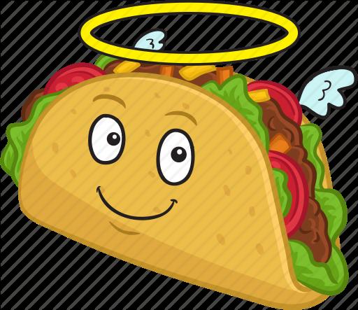png library download Vector emojis emoticon. Tacos clipart smiley free