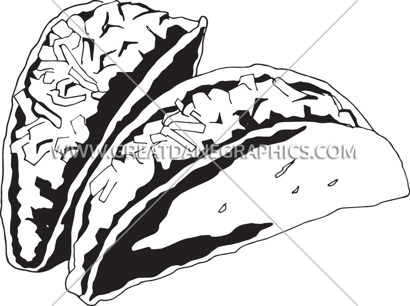 svg royalty free download Tacos Drawing at GetDrawings