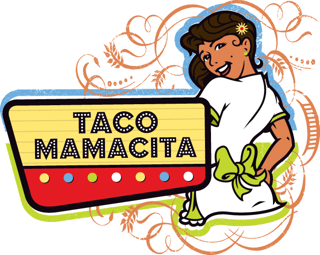 graphic royalty free stock Taco Mamacita