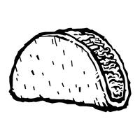 clip art free library Tacos free art downloads. Vector taco