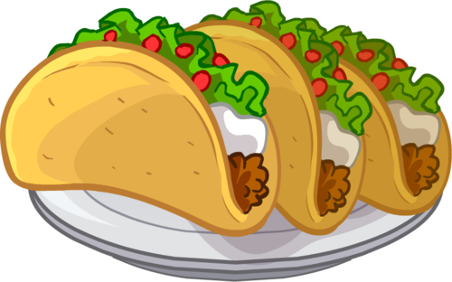 jpg black and white library Tacos clipart. The top best blogs