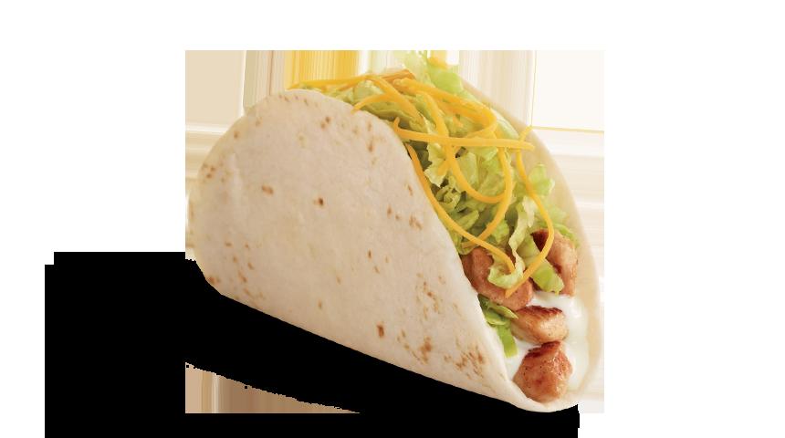 jpg library stock Del taco food menu. Tacos transparent soft