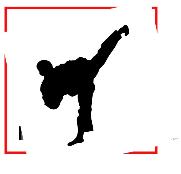 clip transparent Tkd Fighter Clip Art at Clker