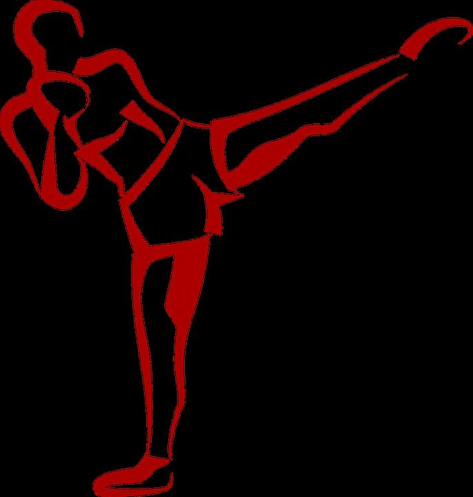 svg black and white download Arts the best kick. Taekwondo clipart mixed martial art