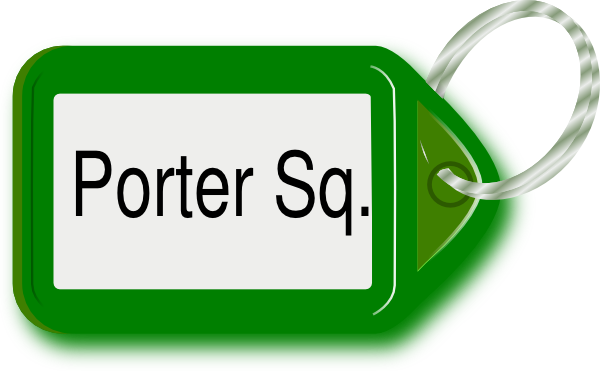 vector freeuse stock Porter square ring clip. Key chain clipart