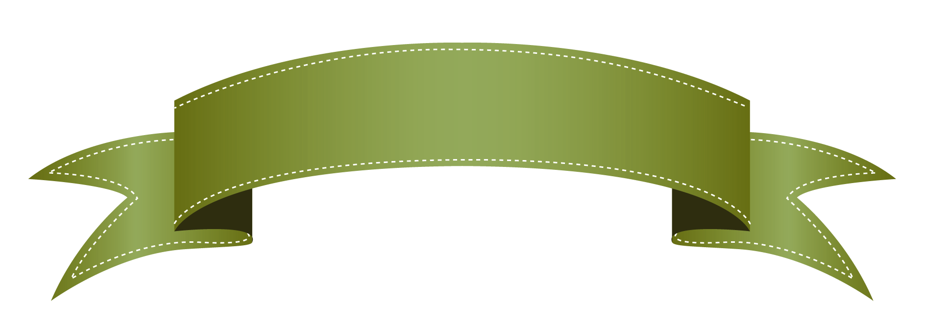 banner library stock Green Ribbon Banner Clipart