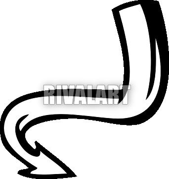 vector transparent download Tail clipart. Curvy devils panda free