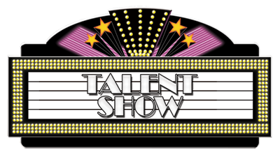 png black and white stock Talent show clipart. Tonight whitmore bolles news