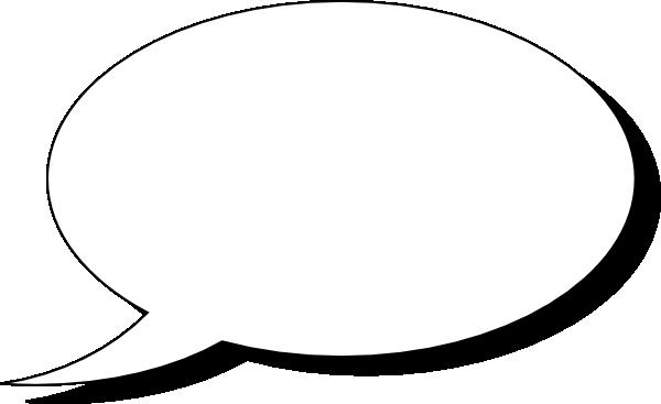 clipart transparent Talk clip art at. Vector bubble single