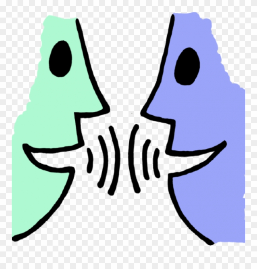 black and white Talk clipart. Mouth talking graphic library.