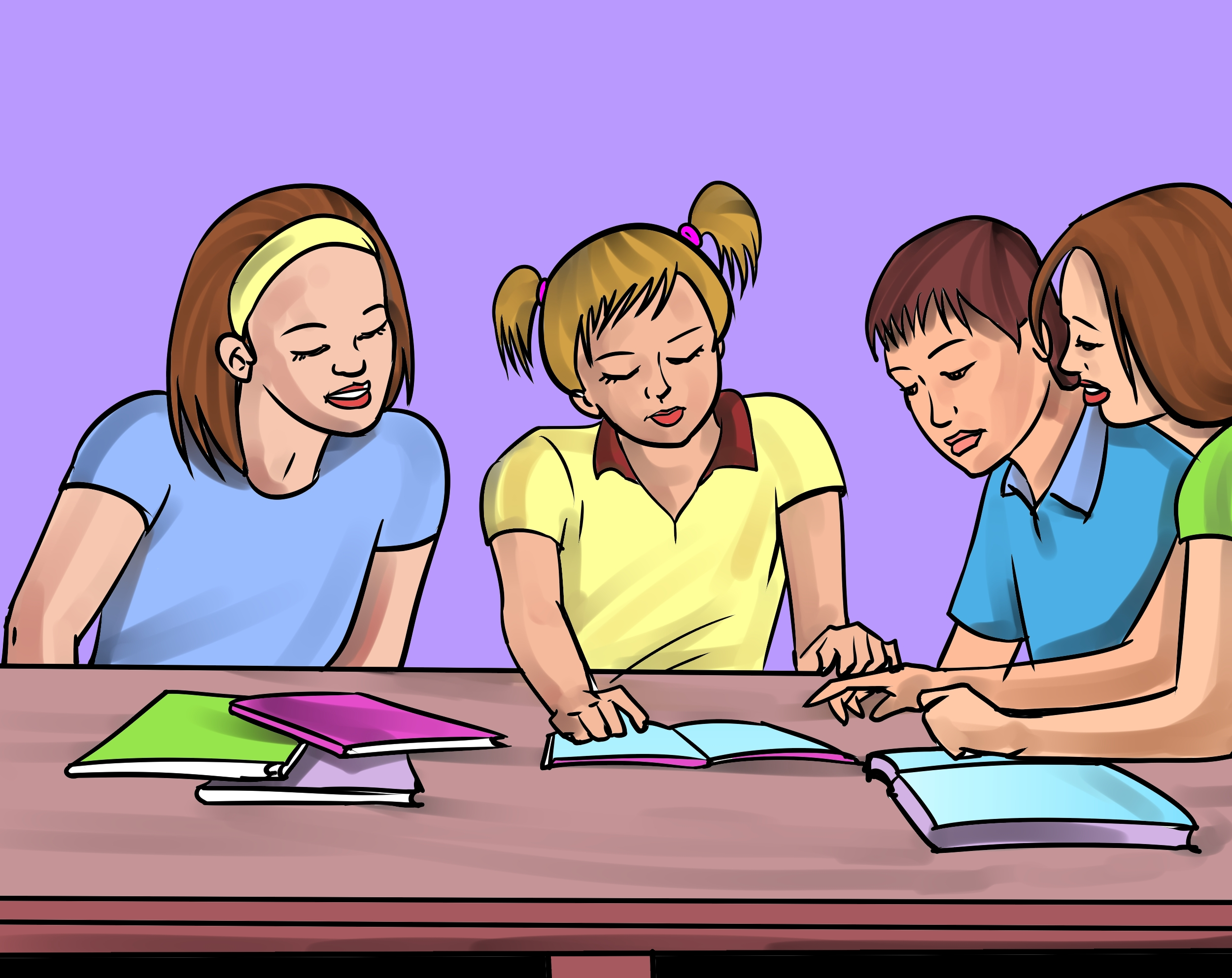 vector transparent stock Students talking clipart. Free cliparts download clip.