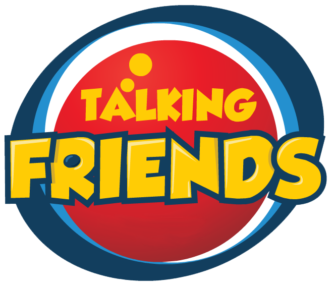 svg library stock Talking Friends Clipart