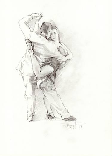 clipart freeuse stock . Tango drawing